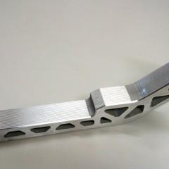 Pieza para robot de aluminio